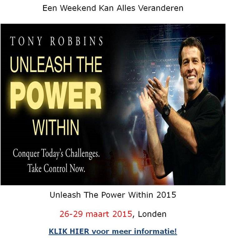 Tony Robbins UPW 2015