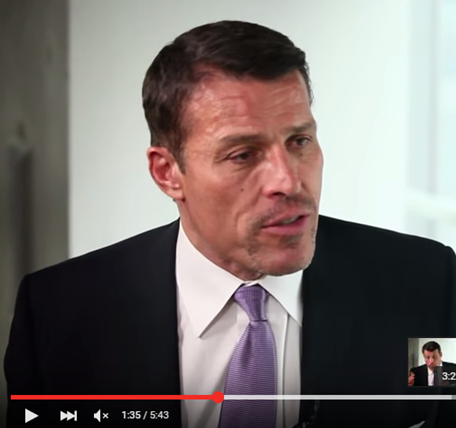 Interview Tony Robbins