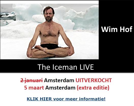 Wim Hof Iceman LIVE