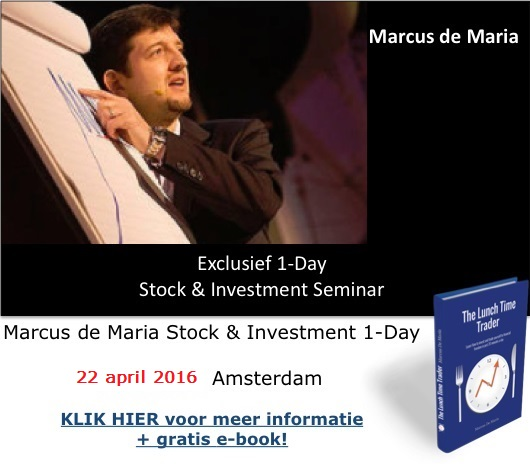 Marcus de Maria 1 Day Stock and Investing 22 april