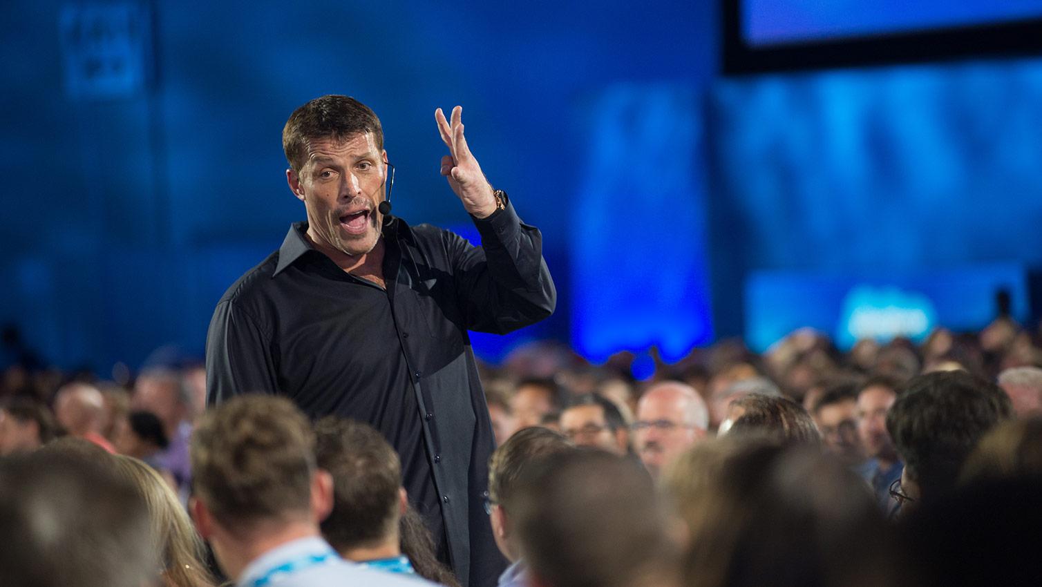 Tony Robbins – Verander je state van angst naar moed