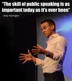 Andy Harrington Amsterdam Quote