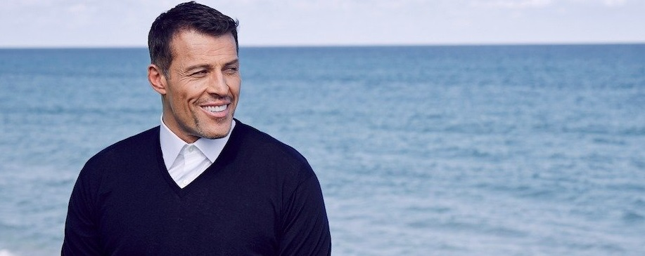 Tony Robbins Train je emoties